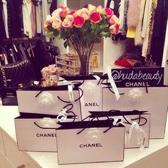 Fresh flowers and Chanel for spring