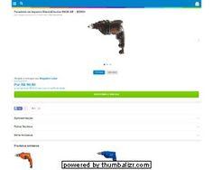 """[Mag.Luiza] Furadeira de Impacto Black&Decker 560W 3/8"""" - BD500 - R$ 99,90 em 3x R$ 33,30"""
