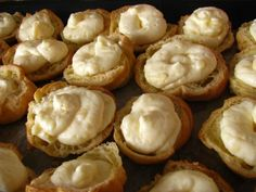 veterniky s kremom Cheesecake, Stuffed Mushrooms, Pie, Vegetables, Food, Stuff Mushrooms, Torte, Cake, Cheesecakes