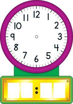 Vance Nail - windows wallpaper clock - 2075 x 2096 px Teaching Clock, Teaching Time, Teaching Science, Math For Kids, Lessons For Kids, Preschool Worksheets, Math Activities, Clock Clipart, Math Clock