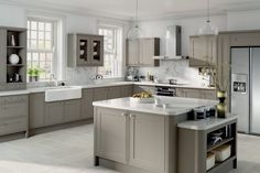 Love this Gray kitchen Durable and classic - 27 gray kitchens - Comfortable home