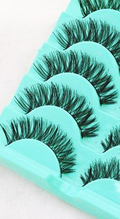 brand new and high quality Material: Artificial Fibre Quantity: 5 pairs Pattern: as the picture shows Color: black Package Contents: 5 Pairs/set Feature: Curly, Long and thick design Bring you eye-catching beauty Perfect for party and stage makeup Daily Beauty Tips, Beauty Makeup Tips, Beauty Hacks, Vaseline Eyelashes, Curling Mascara, Eyelash Sets, Thicker Eyelashes, Skin Care Tips, Skin Tips