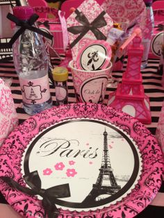 Paris Birthday Party Ideas | Photo 1 of 20 | Catch My Party