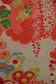 detail of a silk haori,  collection Carolina Breuer