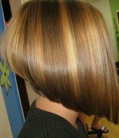 63 Flattering Bob Hairstyles on Older Women - Hairstyles Trends Thick Hair Bob Haircut, Angled Bob Hairstyles, Long Bob Haircuts, Bun Hairstyles For Long Hair, Older Women Hairstyles, Graduated Haircut, Medium Hair Styles, Short Hair Styles, Really Short Hair