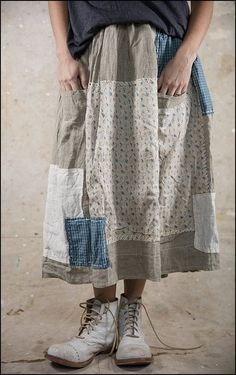 Angelica Skirt 065 Drenched Sand