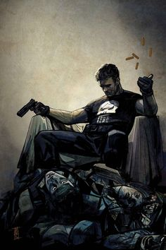 The Punisher 01. Marvel release date: May 2016. Written by Becky Cloonan. Art by Steve Dillon. Cover by Declan Shalvey. Hip-Hop variant cover by Tim Bradtreet. Figure variant cover by John Tyler Christopher. Variant cover by Alex Maleev (image above). Young variant cover by Skottie Young. Age of Apocalypse variant cover by Chris Stevens. Black Panther 50TH Anniversary variant by Phil Noto. Captain América 75TH Anniversary variant cover TBD