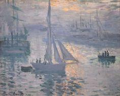 Sunrise by Claude Monet, 1873