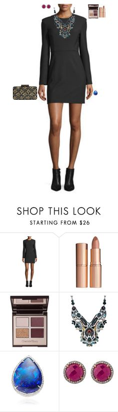 """""""Night Club Inauguration"""" by stylev ❤ liked on Polyvore featuring Elizabeth and James, Charlotte Tilbury, Ayala Bar and Emilio Pucci"""