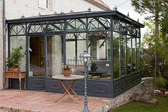 Ideas For Garden Pergola Ideas Sunrooms Conservatory Garden, Pergola Garden, Outdoor Pergola, Diy Pergola, Pergola Kits, Backyard Landscaping, Outdoor Spaces, Outdoor Living, Pergola Ideas