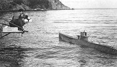 """Oh, el cine es mentira!, al menos algunos planos del submarino alemán que aparece en """"En busca del arca perdida"""" (1981)"""