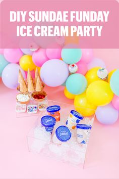 Did you hear the scoop? It's SUNDAE FUNDAY and that means you have to celebrate! We partnered with @carolinebellcreative and a variety of amazing brands, to show you all how to throw the ultimate Sundae Funday Ice Cream Party. You definitely can't go wrong with this sweet theme, so we put together a list of everything you'll need to host your cool bash! #MadeWithBeacon