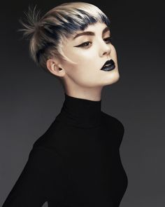 Contrast by Ken Picton Salon on Bangstyle, House of Hair Inspiration