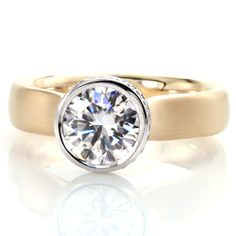 Contemporary Engagement Rings, Classic Engagement Rings, Engagement Ring Styles, Earring Trends, Jewelry Trends, Diamond Solitaire Rings, Diamond Engagement Rings, Yellow Gold Rings, White Gold