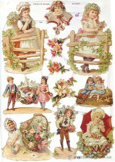 die cast vintage poezieplaatjes