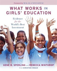 Gene Sperling, author of the seminal 2004 report published by the Council on Foreign Relations, and Rebecca Winthrop, director of the Center for Universal Education, have written this definitive book on the importance of girls' education. As Malala Yousafzai expresses in her foreword, the idea that any child could be denied an education due to poverty, custom, the law, or terrorist threats is just wrong and unimaginable.Amazon.com