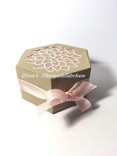 Verpackung Stampin Up Thinlits Fensterschachtel #dinesstempelstübchen Baby Geschenk