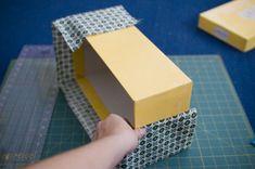 fabric-covered storage box part 1