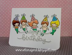 Whimsipost: Mermaid Party | happy birthday