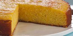 La Pastelera Anna Olson y una Torta completamente libre de Gluten, utilizando harina de maíz (polenta).