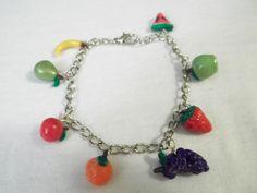 Tutti Fruti Bracelet by BackyardBeader on Etsy, $15.00