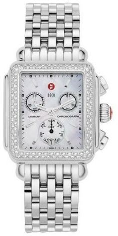 My favorite Michele Deco watch - chunky and beautiful