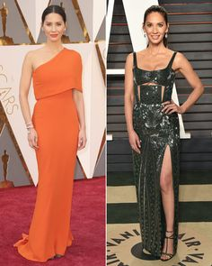 Oscars 2016 After-Party Outfit Changes - Olivia Munn