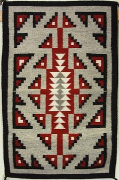 Ganado/Two Grey Hills Rug by Linda Norcross (Navajo)