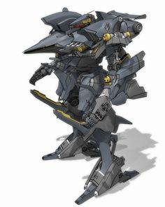 Armored Core Aaliyah - I have a Kotobuyika kit of this. Very cool.