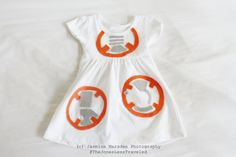 BB8 Baby/Toddler Costume for 3 months to 12 by TheJonesLessTraveled