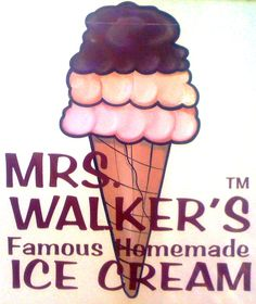 Mrs. Walker's Famous Homemade Ice Cream, Forked River, NJ