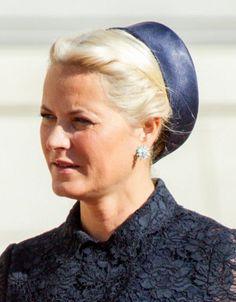 Crown Princess Mette-Marit, September 2, 2014 in Mona Strand | Royal Hats