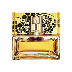 """Jenny R., Associate Manager, Online Marketing for Shiseido, says """"I am completely in love with this beautiful gold bottle and the floral and warm vanilla fragrance of Zen Secret Bloom! I've stocked up on this limited edition item for myself and will be getting more to give as gifts for the holidays."""""""