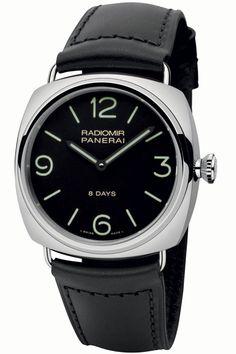 Officine Panerai: dois novos relógios com caixa em aço