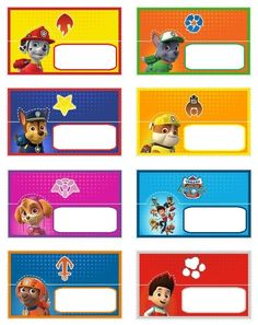 "Free Printable Paw Patrol Food Labels - Invitation Templates DesignSearch Results for ""free printable paw patrol food labels"" – Invitation Templates 4th Birthday Parties, 3rd Birthday, Birthday Ideas, Fete Emma, Paw Patrol Invitations, Party Invitations Kids, Cumple Paw Patrol, Dog Bag, Paw Patrol Birthday"