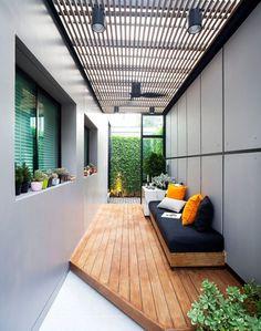 Dirty Kitchen Design, Outdoor Kitchen Design, Exterior Design, Home Interior Design, House Roof Design, Terrace Design, Backyard Patio Designs, House Rooms, Sweet Home
