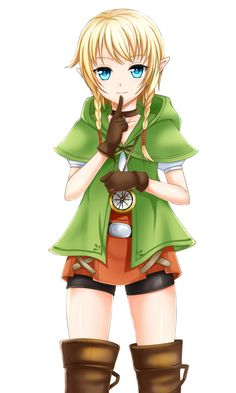 The Legend of Zelda: Hyrule Warrors, Linkle / 「リンクルとサリア」/「浅月」のイラスト [pixiv]>>>> does she not bother anyone else?! I dunno, she's cool as a character but not as a CANON one! Why Nintendo? well at least it's only a spinoff... I'll always love these games and nothing will change it ^^