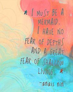 Daily Words: Mermaid