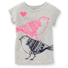 17/11/14 stencil print inspiration - Glitter Bird Tee (DIY inspiration for freezer stencil, screen print)