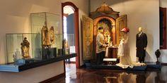 A coleção do Museu do Oratório (localizado em Ouro Preto) conta com 162 oratórios e cerca de 300 imagens, todas brasileiras, predominantemente de Minas Gerais