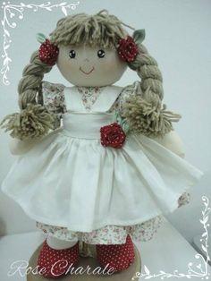 Bonecas de pano | Rose Charale Bonecas de Pano | Elo7