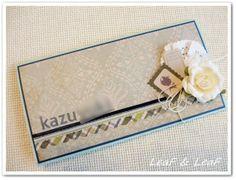 手作り出産お祝い袋/ご祝儀袋 http://ameblo.jp/leafleaf-cards/entry-11795691374.html