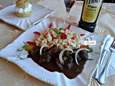 Hovädzie kocky s fernetom a kakaom (fotorecept) Minion, Beef, Food, Meat, Essen, Minions, Meals, Yemek, Eten