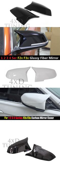 [Visit to Buy] 1:1 Replacement M3 M4 Style For BMW F32 F33 F36 Carbon Fiber Mirror Cover 2014 2015 2016 2017 F32 F36 Carbon #Advertisement