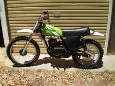 Either a KX250 or KX125 from around 75. I owned one of the first 250's in the UK and realised I should have bought an RM250 or RM370 Suzuki.