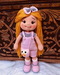 Mesmerizing Crochet an Amigurumi Rabbit Ideas. Lovely Crochet an Amigurumi Rabbit Ideas. Crochet Dolls Free Patterns, Crochet Doll Pattern, Amigurumi Patterns, Doll Patterns, Crochet Doll Clothes, Knitted Dolls, Tutorial Amigurumi, Easy Crochet Projects, Amigurumi Toys