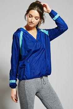 Active Colorblocked Windbreaker - Activewear - 2000184801 - Forever 21 EU English