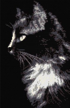 Black Cat Counted Cross Stitch Kit                                                                                                                                                     More