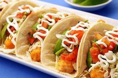 Grilled Fish Tacos with Cucumber Citrus Salsa- Just made these tonight for dinner- and they were AMAZING!  I did mango salsa instead of cucumber citrus...and they turned out YUMMY!