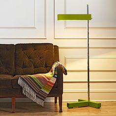 DIY Adjustable LED Floor Lamp  Build a height-adjustable lamp that's as up to date as its economical LED light source. Our DIY plans make it easy to wrap up the project in a weekend.